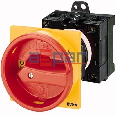 T0-2-1/V/SVB - rozłącznik 3-fazowy, 0-1, 20A, 043619
