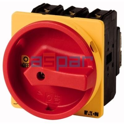P3-100/EA/SVB - rozłącznik 3-fazowy, 0-1, 100A, 074320