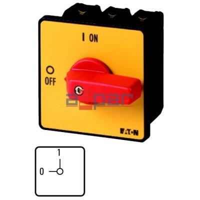 P3-63/E-RT - rozłącznik 3-fazowy, 0-1, 63A, 005743