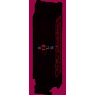 M22-FLED-R, 180798, dioda LED płaska, czerwona