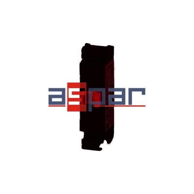 Element stykowy 1R płaski montowany do płyty czołowej, M22-FK01, 180791