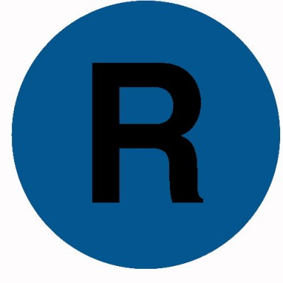 Soczewka przycisku, płaska, niebieska z symbolem R, M22-XDL-B-X6, 218304