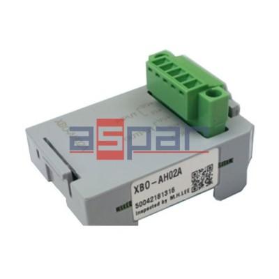 XBO-AH02A - 1 wejście/1 wyjście analogowe