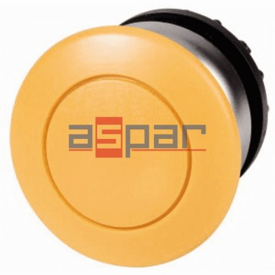 M22-DP-Y, 216718, przycisk grzybkowy z samopowrotem, żółty