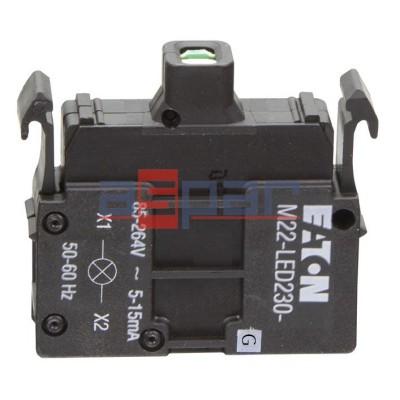 M22-LED230-G, 216565, dioda LED, zielona