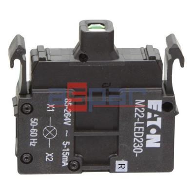 M22-LED230-R, 216564, dioda LED, czerwona