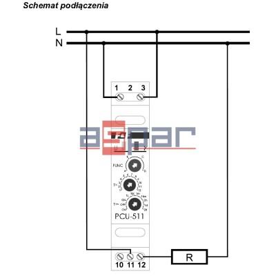 PCU-511 UNI - 4-funkcyjny