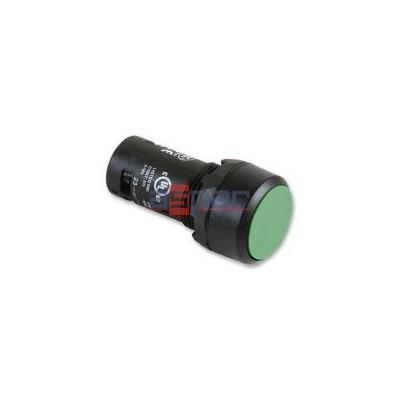 CP1-10G-11, przycisk wklęsły zielony, NO+NC