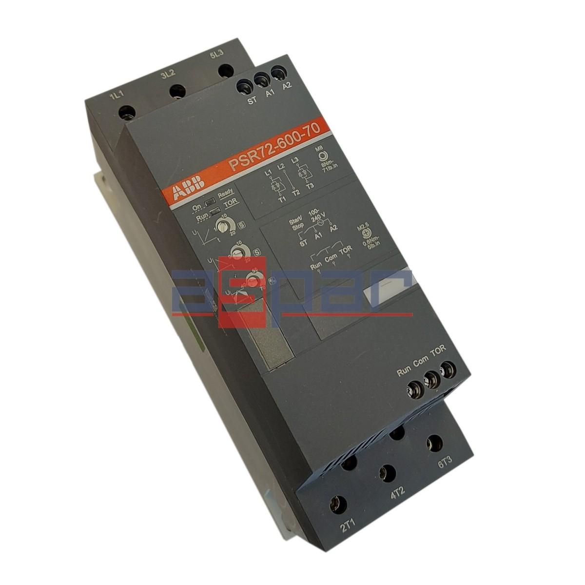 Softstart 37kW, PSR72-600-70, 1SFA896113R7000