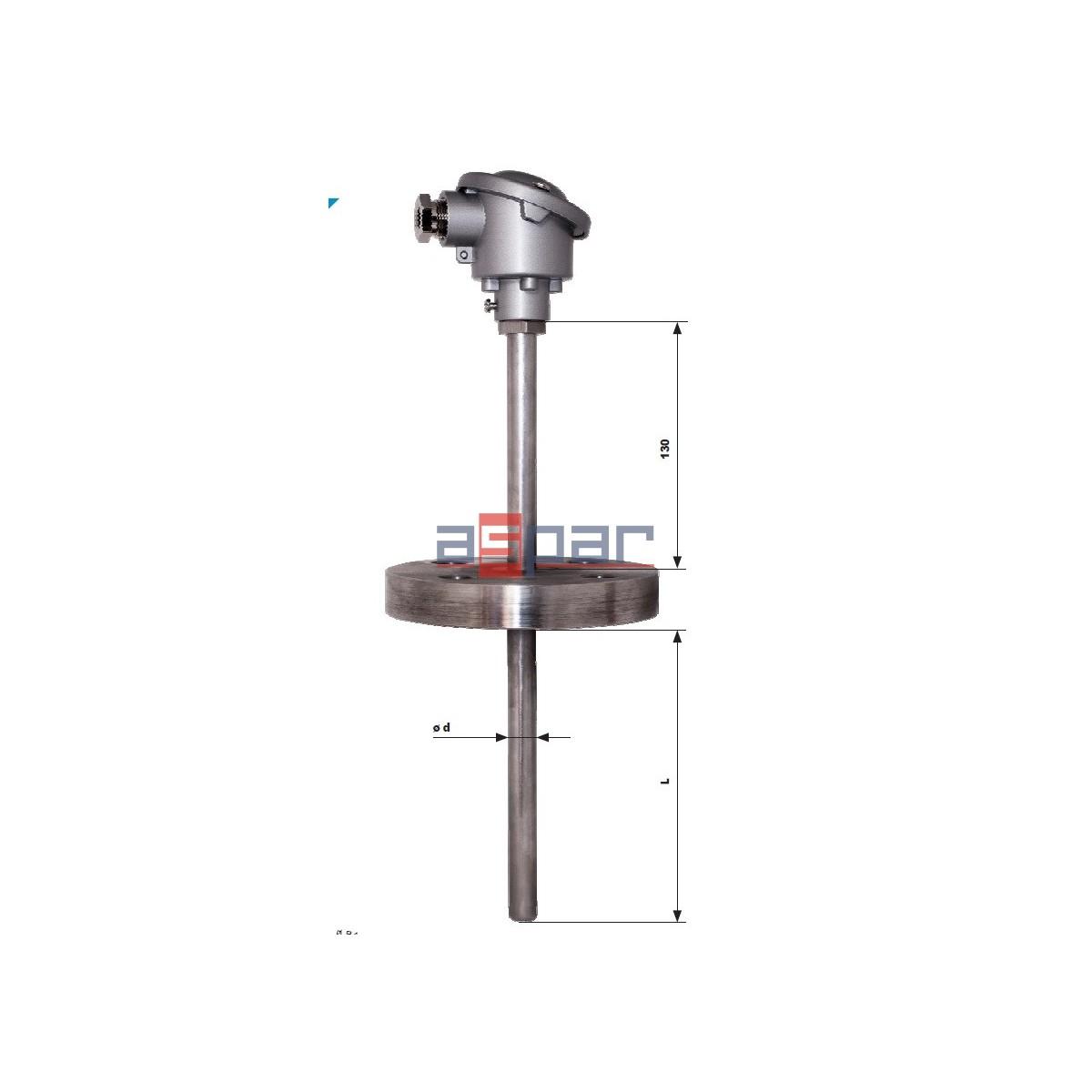 CTP551KS - rezystancyjny czujnik głowicowy