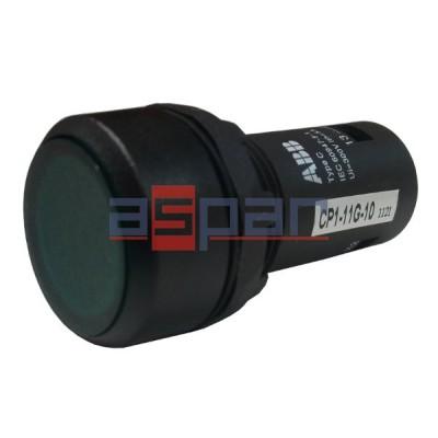 Przycisk podświetlany CP1-13G-10, 230V AC/DC