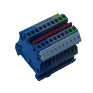 Złączki listwowe 2,5 (4) mm²