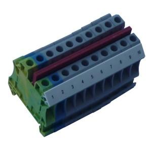 Złączki listwowe 6 (10) mm²