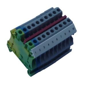 Złączki listwowe 4 (6) mm²