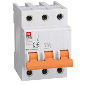 Wyłączniki nadmiarowo-prądowe, 3-polowe, charakterystyka B i C