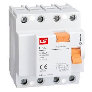 wyłączniki róznicowo-prądowe, LS, LSIS, RKN